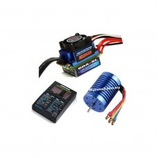 Ezrun Brushless Motor 9T Upgrade Combo Set 60A ESC for RC Car