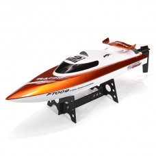 Feilun FT009 2.4G 4CH Water Cooling High Speed RC Racing Boat (Orange)
