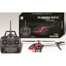 FX071C 2.4G 4CH 6 Axis Gyro Flybarless RC Helicopter