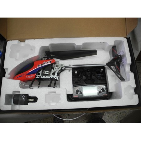 FX071C 2 4G 4CH 6 Axis Gyro Flybarless RC Helicopter