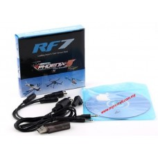 22 in 1 USB Dongle Cable RC Flight Simulator Real Flight 7 Phoenix 5.0 XTR FMS Aerofly