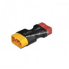 Male XT60 Plug to Female T Plug Converter for RC Lipo Battery