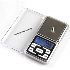 Pocket Size High Precision Digital LCD Weighing Scale 200g / 0.01g