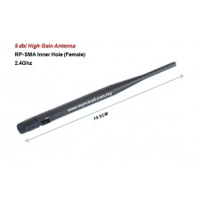 5dBi High Gain 2.4G Omni Directional Wireless Antenna SMA Female