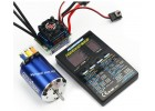 Ezrun Brushless Motor 5.5T Upgrade Combo Set 60A ESC for RC Car