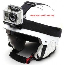 GoPro SJCam XiaoYi Action Sports Camera Universal Head Helmet Strap Band Mount