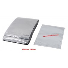 Zip Lock Anti Static Shielding Bag Electronic PCB Board Resealable 150mm x 200mm 20pcs