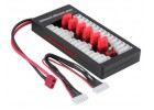 T Dean Plug Parallel Balance Charging Board for RC Lipo LiFe Li-ion IMAX B6 Battery Charger