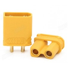 XT30U Connectors Plugs Adapters for RC Lipo Battery Male Female 1 Pair