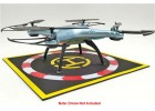 RC Helicopter Quadcopter Drone Waterproof Foldable Landing Pad Large Black 280mm