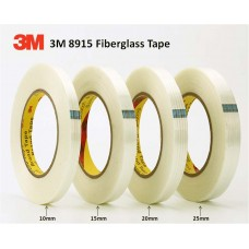 3M 8915 High Performance Fiberglass Filament Tape 20mm x 55 meters