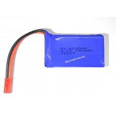 3.7v 780mAh Lipo Battery for RC Helicopter Quadcopter Car Boat (JST Plug)
