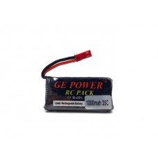 RC Helicopter Quadcopter Drone Car Boat Toy 3.7v 1000mah Lipo Battery JST Plug