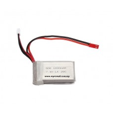 WLtoys V912 V915 Spare Part 20 2s 7.4v 1000mAh Upgrade Lipo Battery