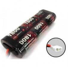 Enrich Power 7.2v 1800mah NiMH Battery RC Car Truck Buggy Tank Tamiya Plug