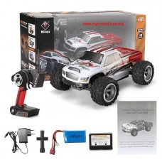 Wltoys A979-B 4WD 2.4G 1/18 70km/h High Speed RC Monster Truck Car RTR