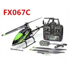 FeiLun FX067C Accipiter 2.4G 4CH 6 Axis Gyro Flybarless RC Helicopter