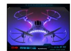 DFD F183 2.4G 4CH 6 Axis Gyro RC Quadcopter with HD Camera - RTF
