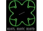 Hubsan X4 H107L H107C H107D Spare Part 02 Glow in the Dark Protection Frame