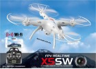 Syma X5SW Wifi FPV Real Time 2.4G RC Quadcopter 2MP Camera RTF