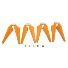 Syma X8C X8W X8G X8HC X8HW X8HG RC Drone Foldable Propeller Blade Set Orange 4pcs