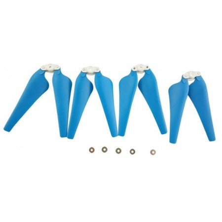 Syma X8C X8W X8G X8HC X8HW X8HG RC Drone Foldable Propeller Blade Set Blue 4pcs
