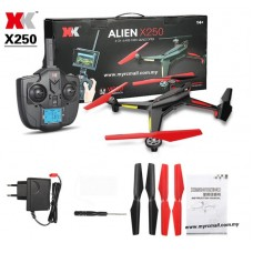 XK Alien X250 2.4G 4CH 6 Axis Headless Mode 1 Key to Return RC Quadcopter RTF