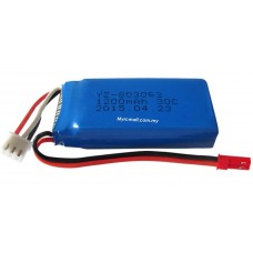 Yizhan Tarantula X6 Spare Part 02 7.4v 1200mah 30C Discharge High Power Lipo Battery