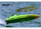 Thunder Tiger OUTLAW JR Brushless OBL 2.4G Water Cooled Racing Boat - ARTR