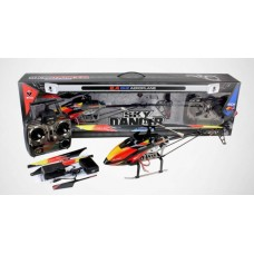 WLtoys V913 Sky Commander 4CH RC Helicopter-Ready to Fly Set with Gyro (RTF)