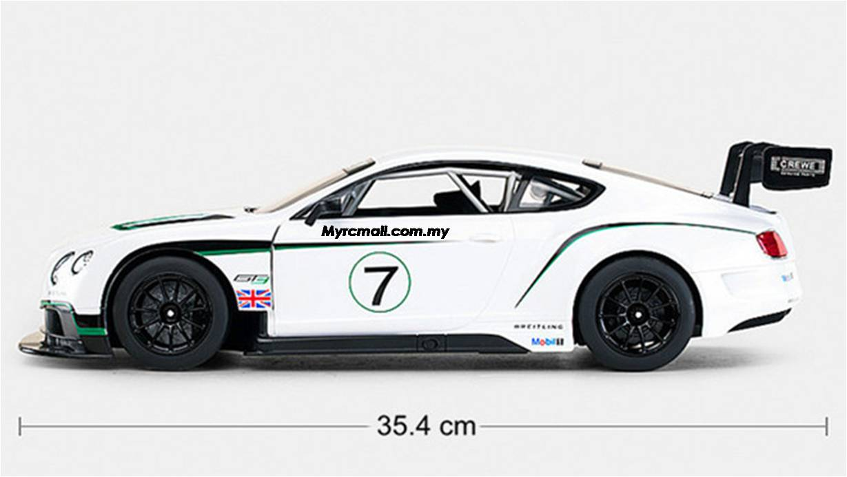 Rastar 1 14 Bentley Continental Gt3 Electric Series Rc